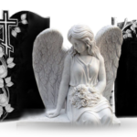 Технологии обработки камня при изготовлении надгробий